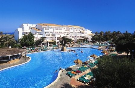 location hôtel piscine Canaries